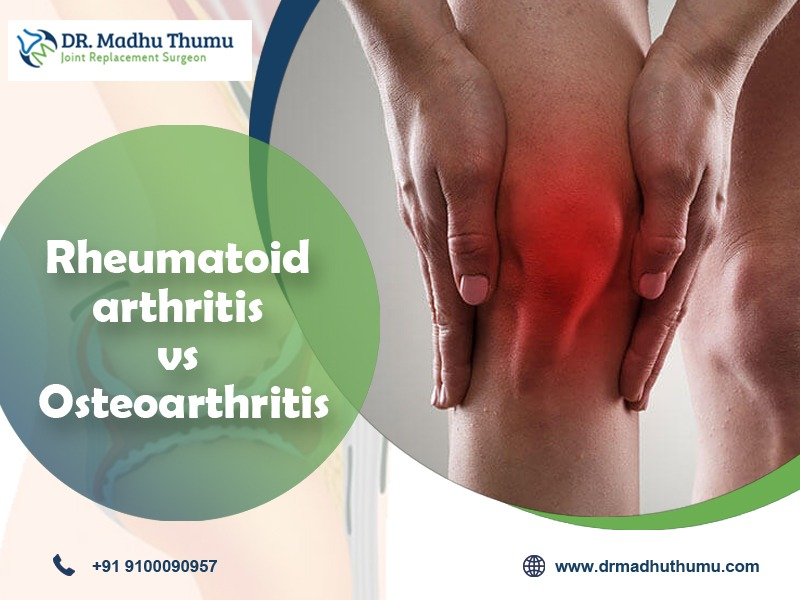 How do I know if I have Osteoarthritis or Rheumatoid arthritis?